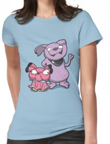 Cutey Bulldogs Womens Fitted T-Shirt