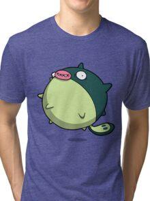 Pufferfish Thing Tri-blend T-Shirt
