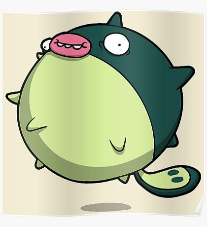 Pufferfish Thing Poster