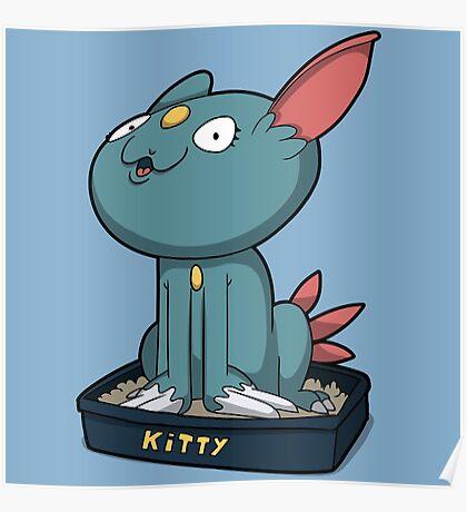 Cutey Kitty Poster