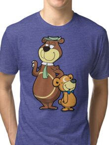 Picnic Basket Duo Tri-blend T-Shirt