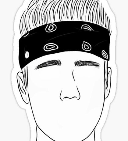 Justin Bieber Bandana Sticker