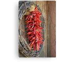 Hot Old Peppers Canvas Print