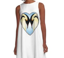Love Like Penguins A-Line Dress