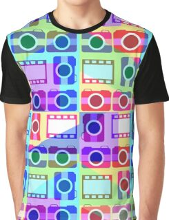 Colorful camera pattern II Graphic T-Shirt