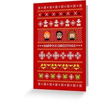 Magical Ugly Christmas Sweater + Card Greeting Card