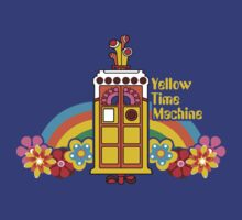 Yellow Time Machine by Baznet