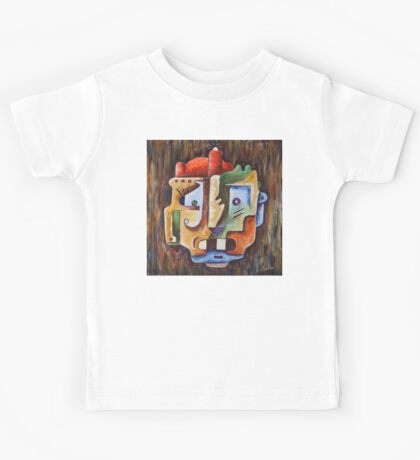 Surreal Face Kids Tee