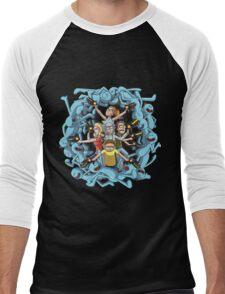 Rick And Morty Mr Meeseek Men's Baseball ¾ T-Shirt