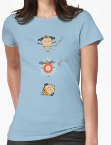 The wonder spin Womens Fitted T-Shirt