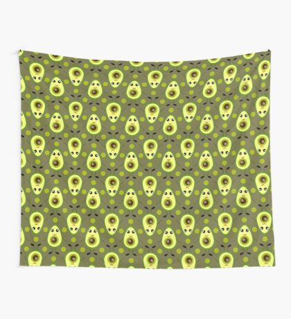 Cute Avocado Wall Tapestry