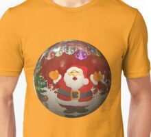nicholas santa claus ball christmas ornaments Unisex T-Shirt