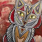 Calico Cat by Lynnette Shelley