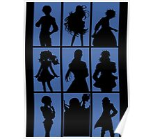 Tales of Xillia 2 - Character Roster (Blue) Poster