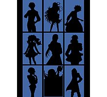 Tales of Xillia 2 - Character Roster (Blue) Photographic Print