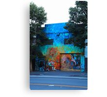 A Mission District Mural III Canvas Print