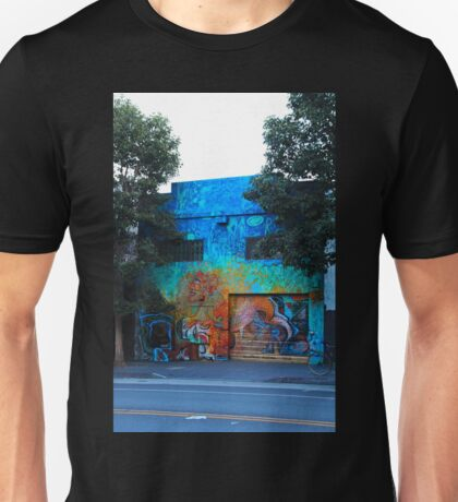 A Mission District Mural III Unisex T-Shirt