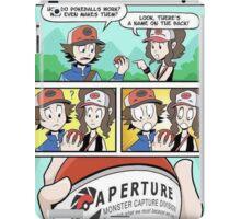 Aperture Pokeballs iPad Case/Skin