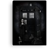 The Girl Who Waited...to kill you. Canvas Print