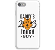 Daddy's Tough Guy - Tiger - Kid's Sports Football Baseball Backetball  iPhone Case/Skin