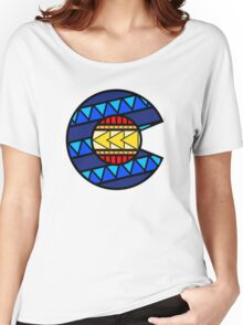 Colorado Tribal Flag: True Colour Women's Relaxed Fit T-Shirt