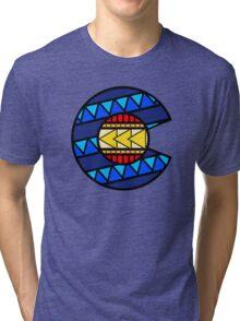 Colorado Tribal Flag: True Colour Tri-blend T-Shirt
