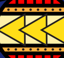 Colorado Tribal Flag: True Colour Sticker