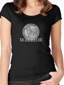 "Thrasher's ""Warrior"" Shirt Women's Fitted Scoop T-Shirt"