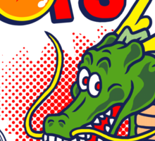Dragon Pops Sticker