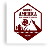 North America Canvas Print