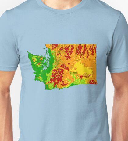 Physically Washington Unisex T-Shirt