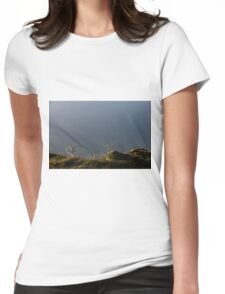 Cloudy Ridgetop Womens Fitted T-Shirt