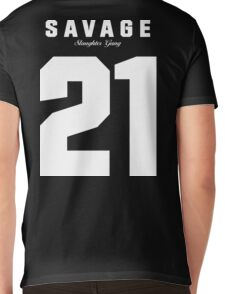21 Savage Jersey Mens V-Neck T-Shirt