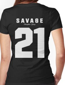 21 Savage Jersey Womens Fitted T-Shirt