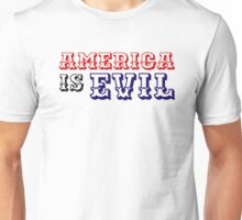 america usa political system capitalism country punk t shirts Unisex T-Shirt