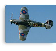 Hurricane IIB BE505/XP-L G-HHII banking in the sunshine Canvas Print