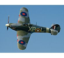 Hurricane IIB BE505/XP-L G-HHII banking in the sunshine Photographic Print