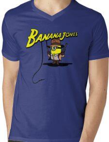 BANANA JONES TECHNICOLOR Mens V-Neck T-Shirt