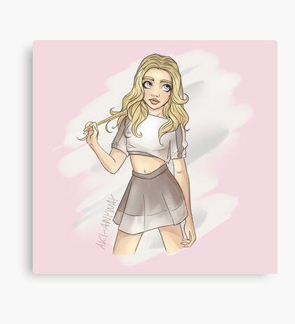 Chibi Cutie Canvas Print