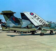 Buccaneer S.2A XX886/Z by Colin Smedley