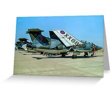 Buccaneer S.2A XX886/Z Greeting Card