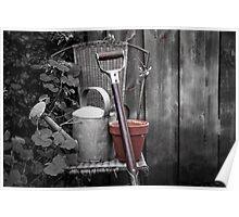 Gardening. Poster