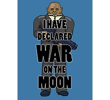 War on the Moon Photographic Print