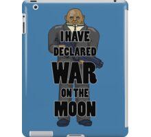 War on the Moon iPad Case/Skin