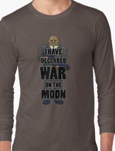 War on the Moon Long Sleeve T-Shirt