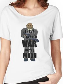 War on the Moon Women's Relaxed Fit T-Shirt