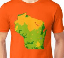 Physically Wisconsin Unisex T-Shirt