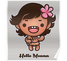 Hello Moana Poster