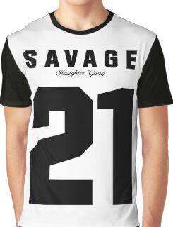 21 Savage Jersey (BLACK) Graphic T-Shirt