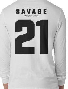 21 Savage Jersey (BLACK) Long Sleeve T-Shirt
